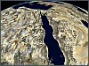 Red Sea 3D satellite image
