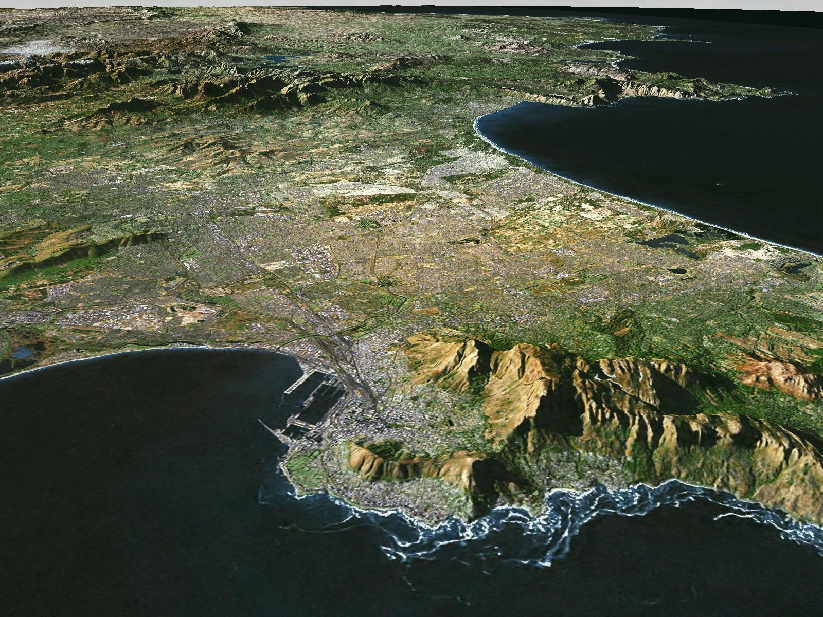 3d satellite images and 3d animationvisualization